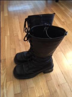 Black Boots (size 7)