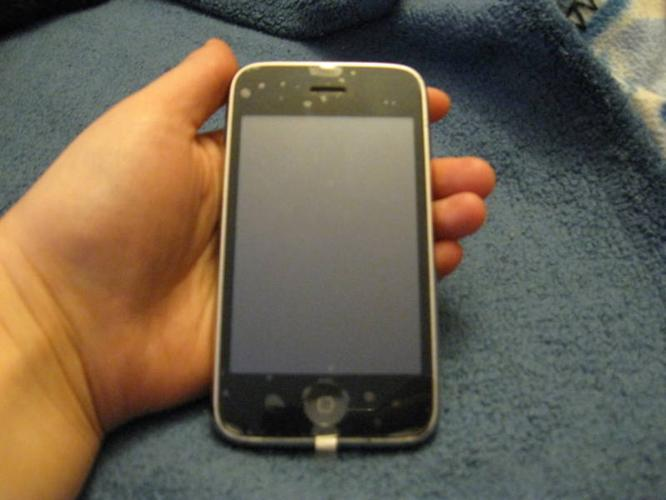 Black iPhone 3GS 8GB