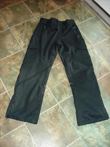 Black Snowboarding/Skiing pants - Size S