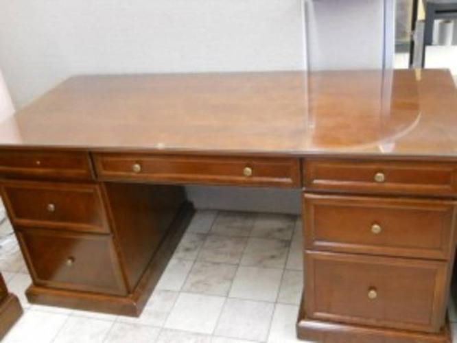 Bombay Company Hazelnut Desk Amp File Cabinet Item J8443