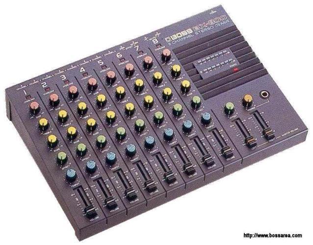 BOSS Stereo Mixer