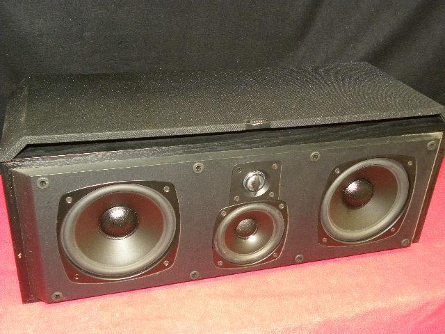 Boston Acoustics home theatre center channel speaker