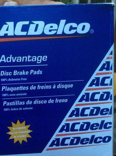 Brake Pads and Rotors... 2008 Chev Malibu