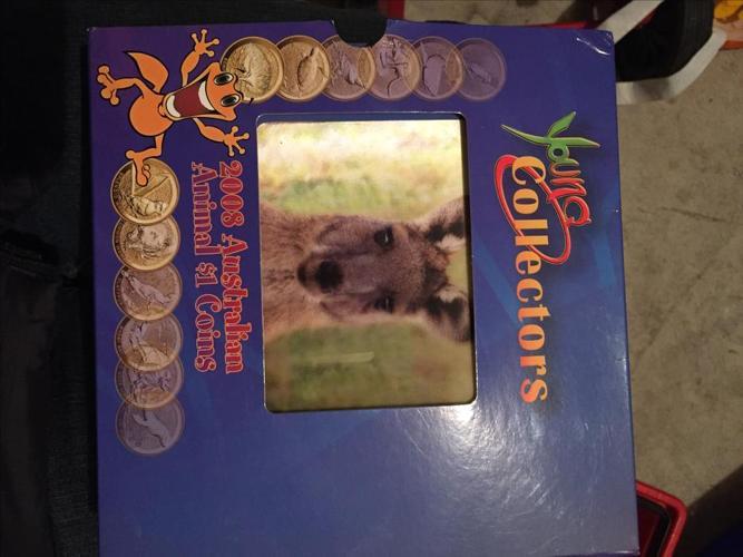 Brand new 2008 Australian Animal $1 Coins