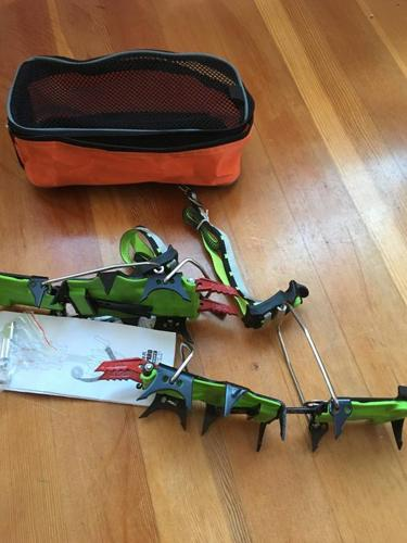 Brand new ice Crampons. Never used. $200+new