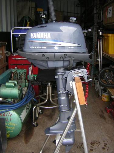 BRAND NEW YAMAHA F4  Four Stroke Cycle  4 HP Portable OUTBOARD