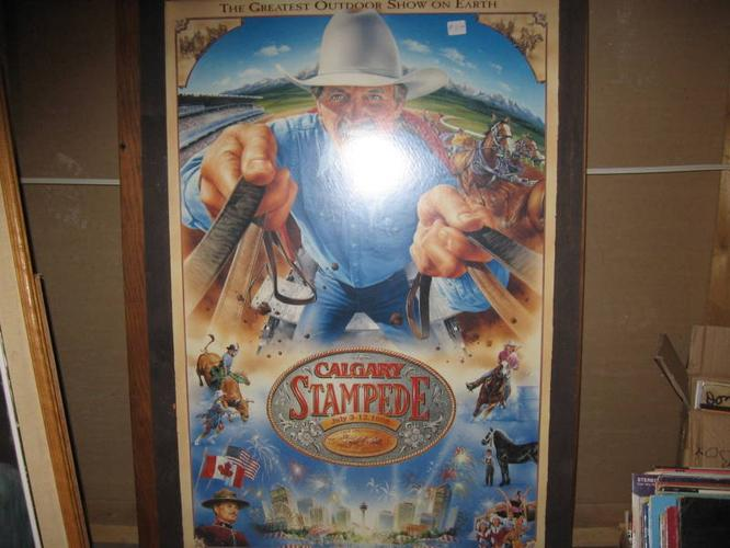 Calgary Stampede Poster For Sale In Chilliwack British