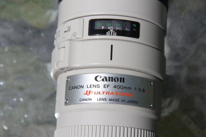 "CANON ""L"" Lens--Reduced Again--400mm--$680 (Chemainus)"