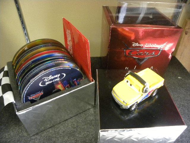 Cars Directors Edition Set on Bluray