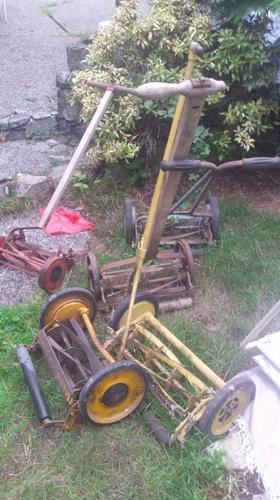 Classic Lawn Mowers