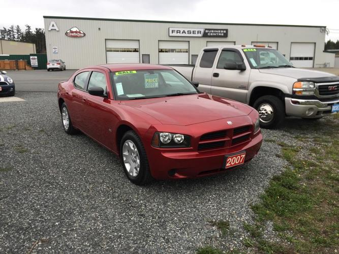CLEAN ONE OWNER 2007 DODGE CHARGER SXT, 147,888KMS