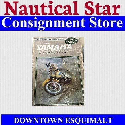 CLYMER MANUAL YAMAHA 1968-1978  ENDURO MOTOCROSS 80CC TO 175CC