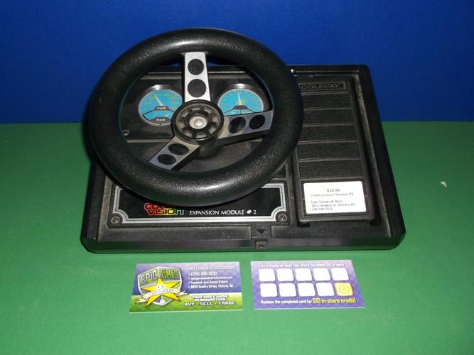Coleco Vision Steering Wheel