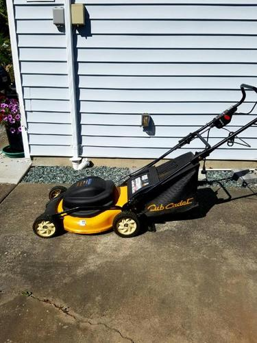 Cub Cadet Electric Lawn Mower