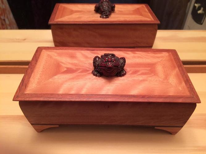 custom Boxes from African hardwoods
