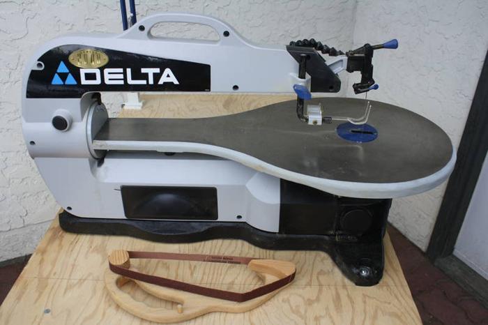 Delta Scroll Saw 40 570 For Sale In Okanagan Centre