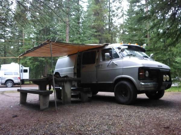Dodge Ram Camper Van for sale in Nanaimo, British Columbia