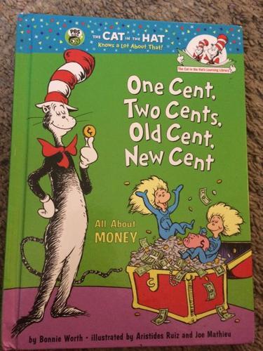 Dr. Seuss hardcover book