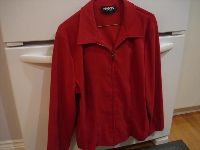 EUC - Briggs New York red light jacket size medium