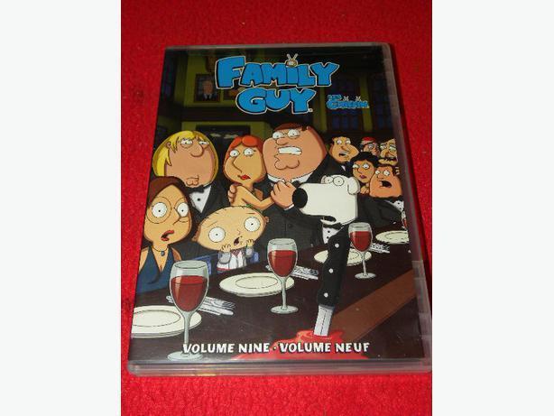 Family Guy Volume 9 on DVD