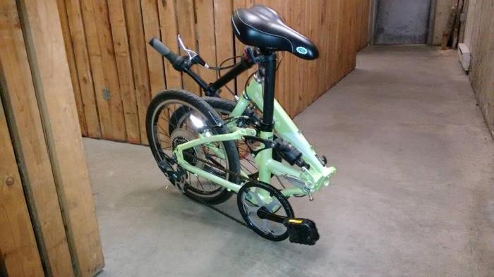 Folding bikes