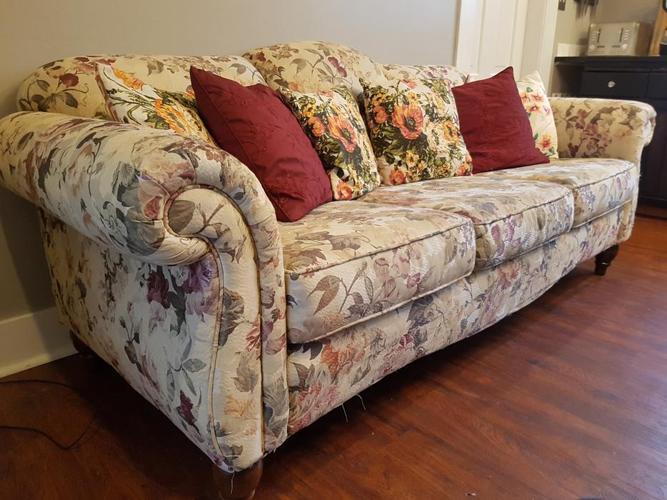 Free, Beautiful, Used Sofa!