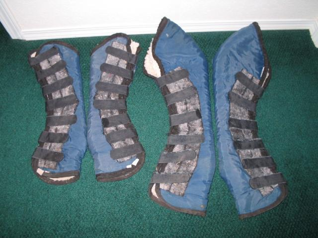 Full Shipping Boots Set of 4