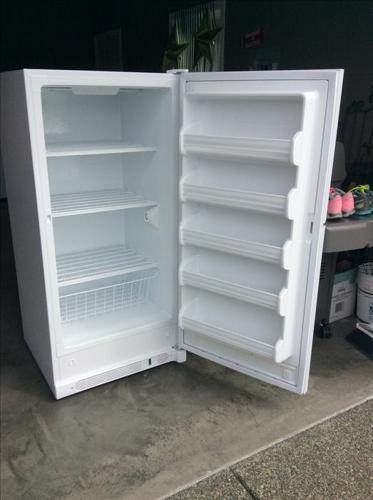 GE Upright Freezer