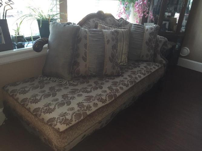 Gorgeous Chaise, Chair and Couch