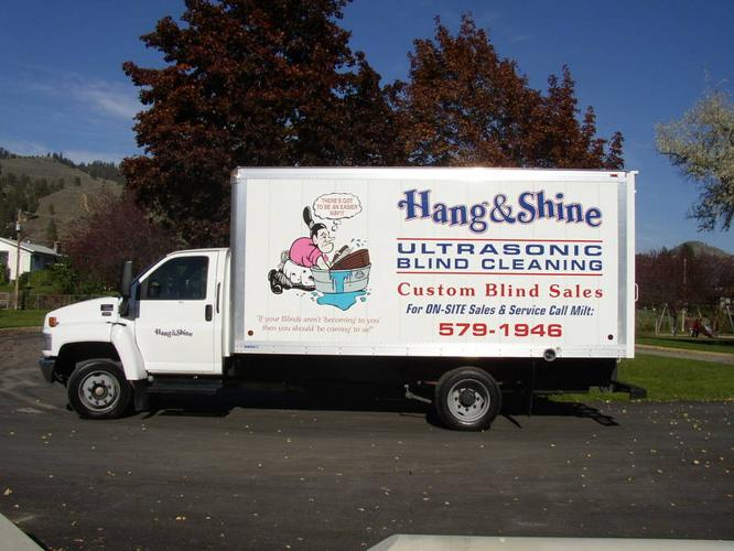HANG AND SHINE ULTRASONIC BLIND CLEANING, SALES AND REPAIR