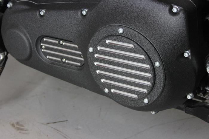 Harley Davidson Derby and Inspection cover set -