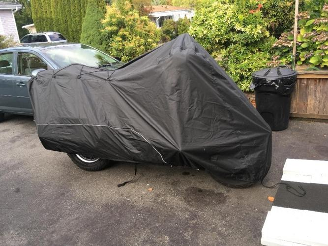 Harley Davidson Touring Motorcycle Cover