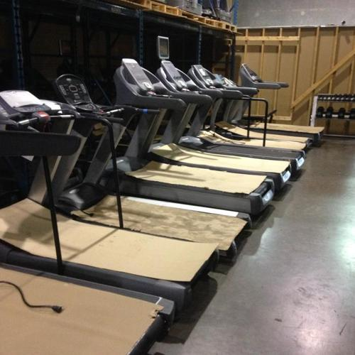 HOME SUPER GYM: Treadmill, Elliptical, Spin Bike for 3 K