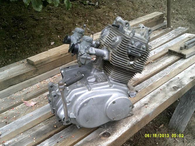 Honda CL160 engine, 1966