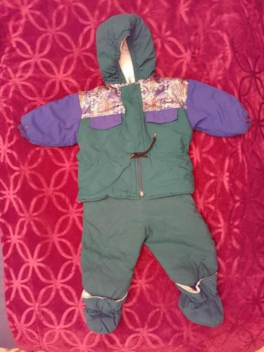 Hooded Snowsuit - size 24 mnths