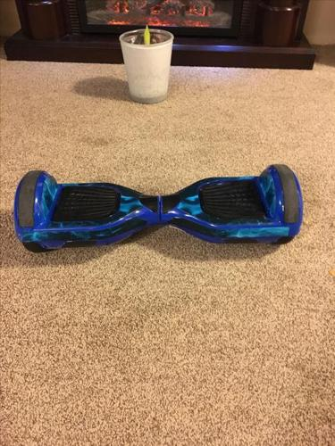Hover board with charger and case
