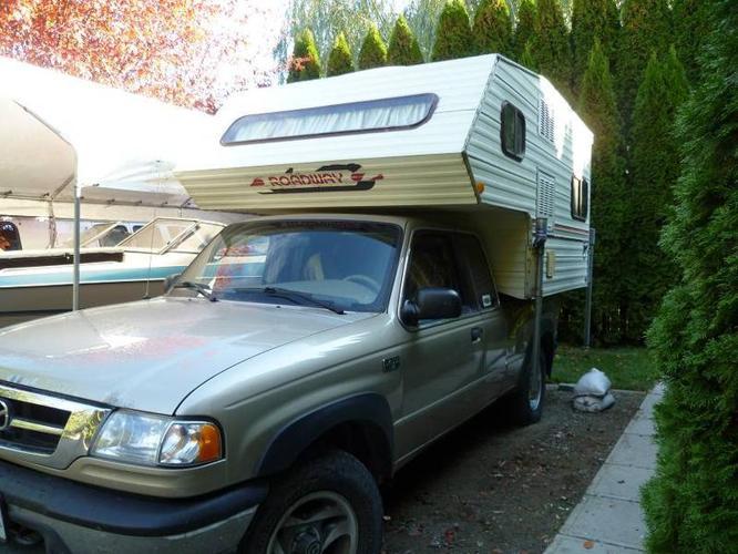Import Size Truck Camper For Sale In Coldstream British
