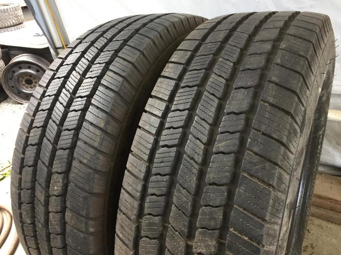 Installed and balanced 2 LT275 65 18 Michelin LTX M/S