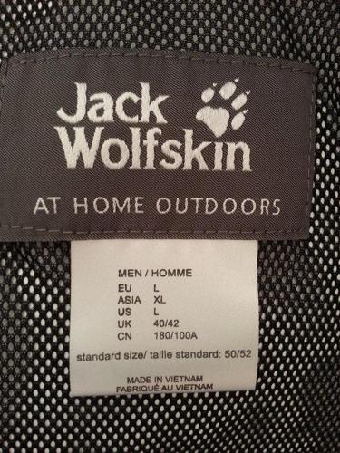 JACK WOLFSKIN - TECHNICAL JACKET (NEW)