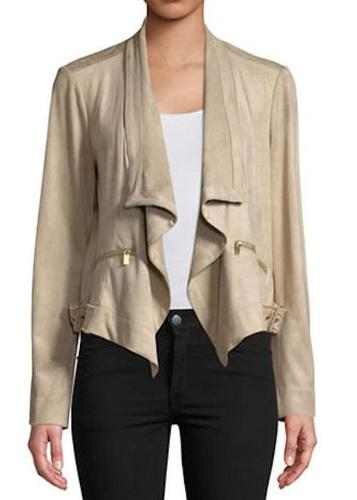 Jones NY Drape Front Jacket L