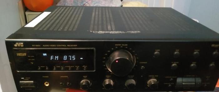 JVC 500 Watt RX-660V Amp/Receiver 5.1