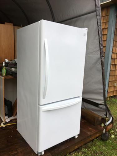 Kenmore bottom mount White