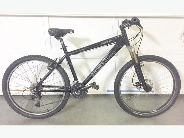 "Kona Scrap mountain bike | 24 speed | 18"" frame"