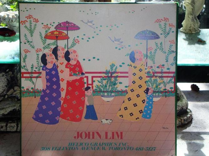 Ladies Walking by John Lim