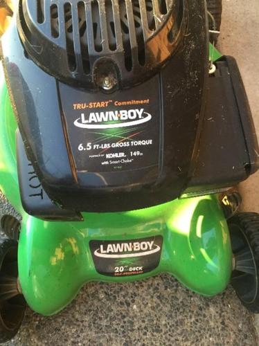lawn boy 20in self propelled lawnmower