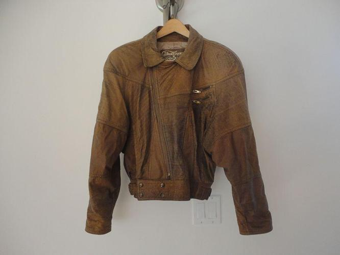 Leather Jacket - excellent as-new condition (size medium)