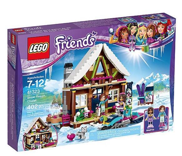 Lego Snow Resort Chalet