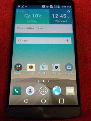 LG G3 Android smartphone for the Rogers network
