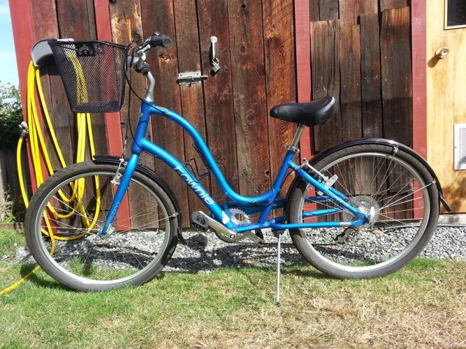 Lightly-used Townie Bike