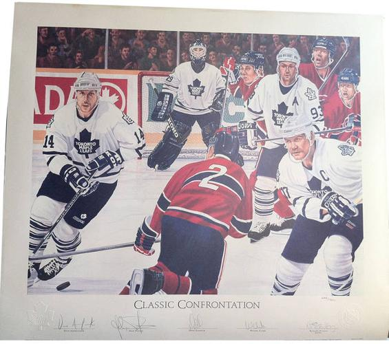 LIMITED EDITION CLASSIC CONFRONTATION OR CURTIS JOSEPH